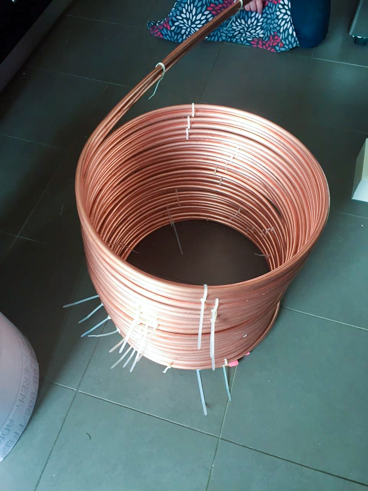 Completed coil